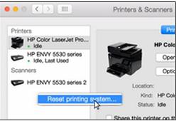 hp printer not responding