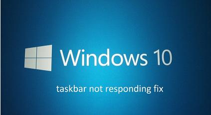 taskbar not responding