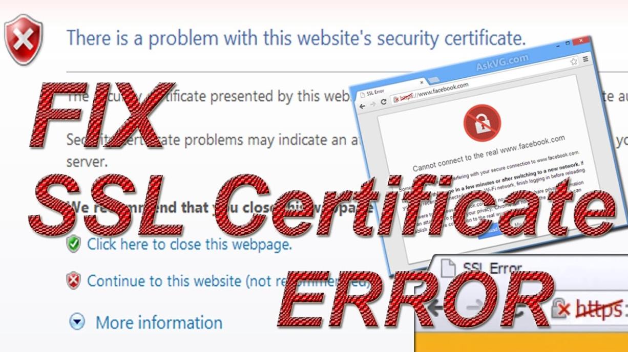 Set right google chrome certificate error with 10 optimized methods xflitez Gallery