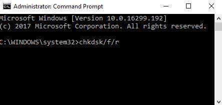Program Not Responding Check Disk