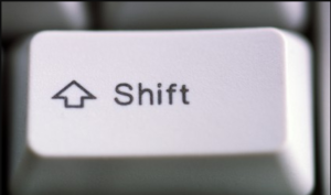 Shift Key problem