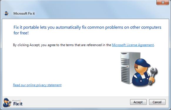 Fix it tool to fix Skype error 1603