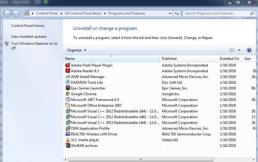 Uninstall residual Skype file