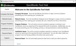 QuickBooks Desktop Tools Hub
