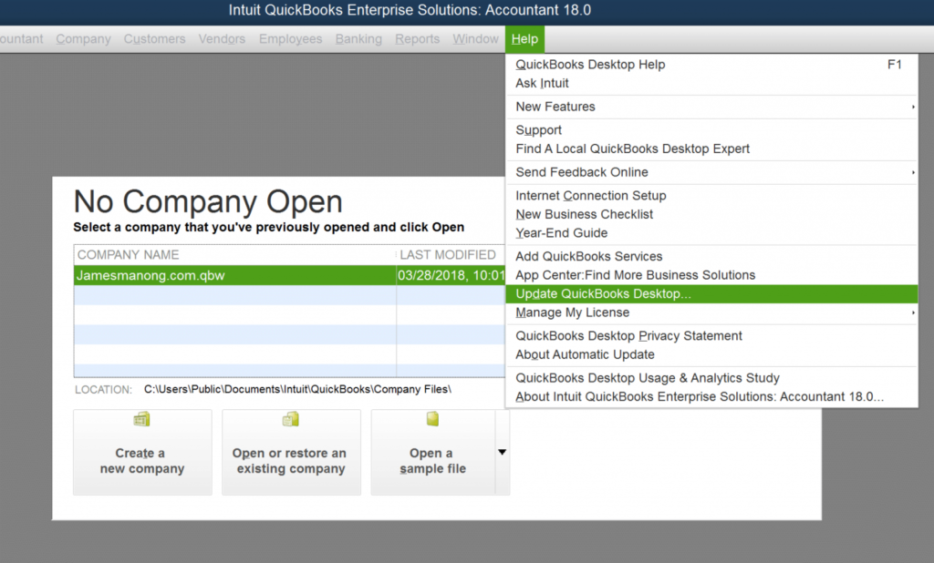 Update Latest QuickBooks Version- intuit data protect has stopped working
