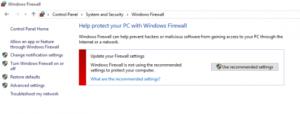 Window Firewall