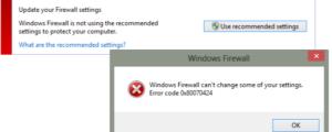 Update Firewall